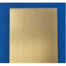 Blacha mosiężna 1,0x640-670x700 mm